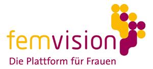 Logo femvision - die Plattform für Frauen.
