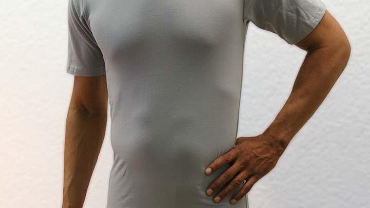 Massgeschneidertes Tshirt von Thatsuits in grau